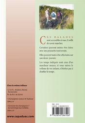 Les balades de Blandine ; balades-plaisir autour de Toulouse - 4ème de couverture - Format classique