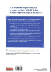 Atlas de l'agriculture ; mieux nourrir le monde (3e édition) - 4ème de couverture - Format classique