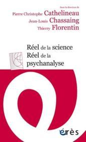 Réel de la science, réel de la psychanalyse - Couverture - Format classique