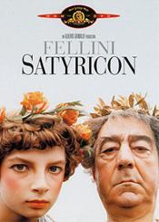 Fellini Satyricon - Couverture - Format classique