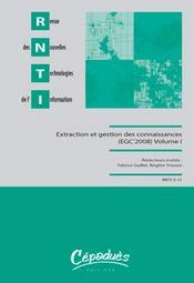 Extraction et gestion des connaissances - Intérieur - Format classique