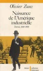 Naissance de l'amerique industrielle - detroit 1880-1920 - Couverture - Format classique