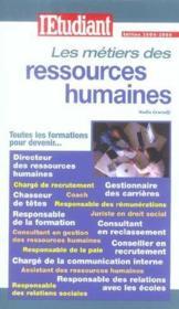 Les métiers des ressources humaines - Couverture - Format classique
