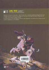 Ubu roi t.1 - 4ème de couverture - Format classique