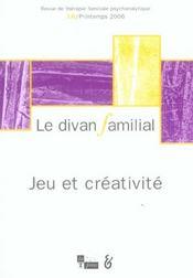 Divan familial n 16 jeu et creativite (le) - Intérieur - Format classique