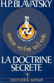 La doctrine secrète t.1 - Couverture - Format classique