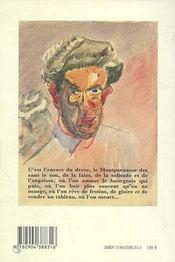 L'arriere-montparnasse - 4ème de couverture - Format classique