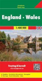 Angleterre, Pays de Galles - Couverture - Format classique