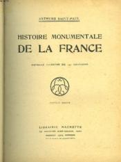 Histoire Monumentale De La France - Couverture - Format classique