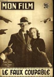 Mon Film N° 581 - Le Faux Coupable - Couverture - Format classique
