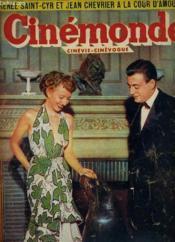 CINEMONDE - 18e ANNEE - N° 856 - FRANCOIS PERIER que vous entendez à Radio-Luxembourg, est, avec Marie Daems et la phoque, la vedette deMON PHOQUE ET ELLES - Couverture - Format classique