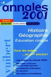 Annales Du Brevet T.6 - Couverture - Format classique