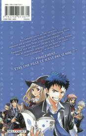 Yamada Kun & the 7 witches T.1 - 4ème de couverture - Format classique
