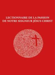 Livret lectionnaire de la passion - Couverture - Format classique