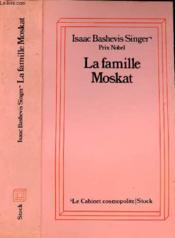 La Famille Moskat - Couverture - Format classique