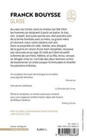 Glaise - 4ème de couverture - Format classique