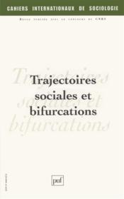 CAHIERS INTERNATIONAUX DE SOCIOLOGIE N.120 ; trajectoires sociales et bifurcations - Couverture - Format classique