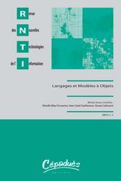 Langages et modèles à objets (LMO 2008) - Intérieur - Format classique