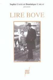 Lire Bove - Intérieur - Format classique