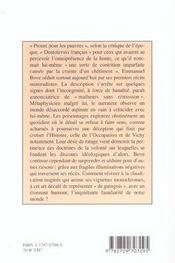 Lire Bove - 4ème de couverture - Format classique