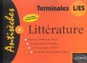 Litterature - Intérieur - Format classique