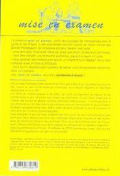 Qcm de mathématiques et de calcul aux concours des écoles de commerce, iae, masters - 4ème de couverture - Format classique