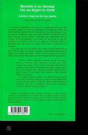 Blanchette et ses chevreaux face aux dangers du monde ; conte franÇais pour le rwanda - 4ème de couverture - Format classique