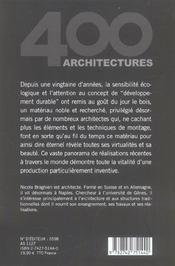 Maisons en bois - 4ème de couverture - Format classique