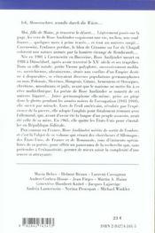 GEDICHTE DE ROSE AUSLANDER (édition 2005/2006) - 4ème de couverture - Format classique