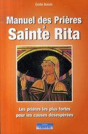Manuel des prieres a sainte rita - Intérieur - Format classique