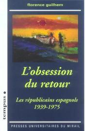 L'Obsession Du Retour - Intérieur - Format classique