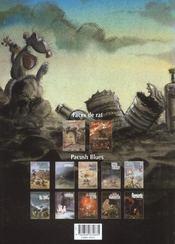 Pacush blues t.6 ; sixte mineure : le mal de mer - 4ème de couverture - Format classique