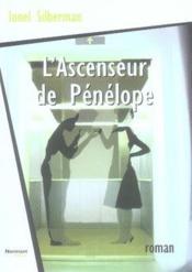 L'ascenseur de pénélope - Couverture - Format classique