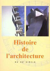 Histoire De L'Architecture Au Xx Siecle - Intérieur - Format classique