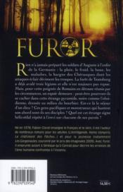Furor - 4ème de couverture - Format classique