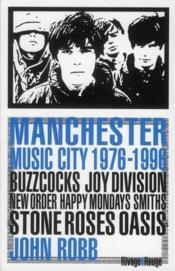 Manchester music city, 1976-1996 - Couverture - Format classique