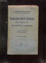 THERAPEUTIQUE USUELLE DU PRATICIEN TRAITEMENT DE LA TUBERCULOSE. 3em SERIE. - Couverture - Format classique