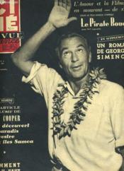 Cine Revue France - 33e Annee - N° 8 - Le Pirate Rouge - Couverture - Format classique