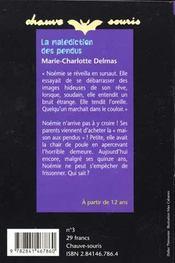 La Malediction Des Pendus - 4ème de couverture - Format classique