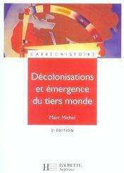 Décolonisations et émergence du tiers monde (édition 2005) - Intérieur - Format classique