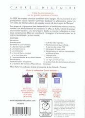 Décolonisations et émergence du tiers monde (édition 2005) - 4ème de couverture - Format classique