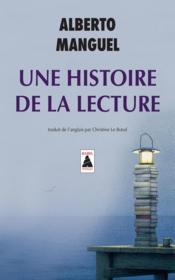 Une histoire de la lecture - Couverture - Format classique