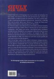 Giuly par giuly - 4ème de couverture - Format classique
