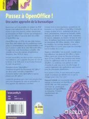 Passez A Open Office 2e Edition - 4ème de couverture - Format classique