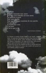 Mue - 4ème de couverture - Format classique