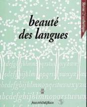 REVUE D'ESTHETIQUE N.33 ; beauté des langues - Couverture - Format classique