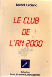Le club de l'an 2000 - Couverture - Format classique
