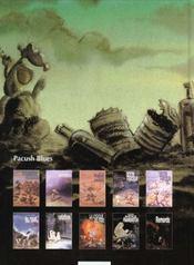 Pacush blues t.7 ; septième saut : variations sur thème - 4ème de couverture - Format classique