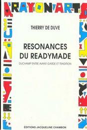 Resonances du readymade - Intérieur - Format classique