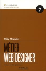 Métier web designer - Couverture - Format classique